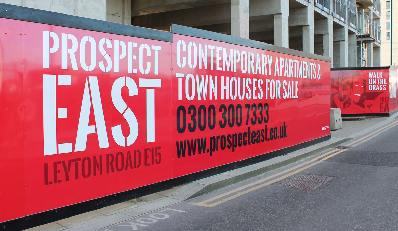Prospect-East-Hoarding